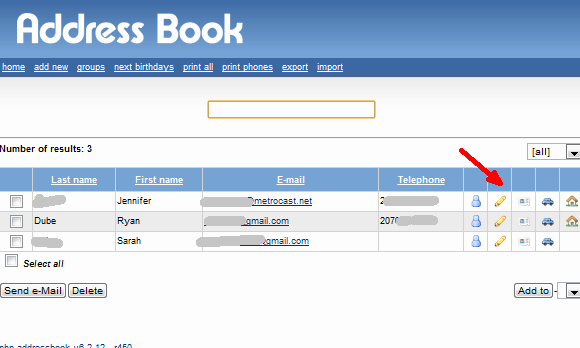 Make Your Own Address Book Lovely Create Your Own Home Address Book Server with PHP Address Book