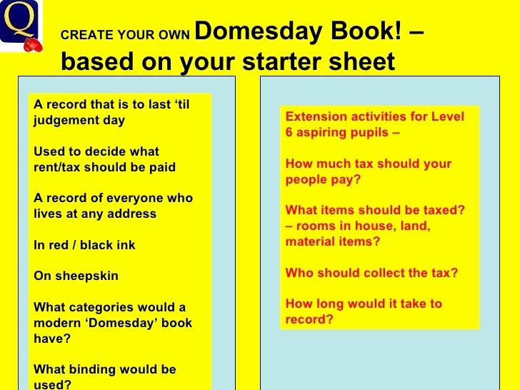 Make Your Own Address Book Luxury Domesday 1