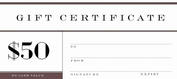Make Your Own Certificate Templates Beautiful Holiday Gift Certificate Template Free Printable
