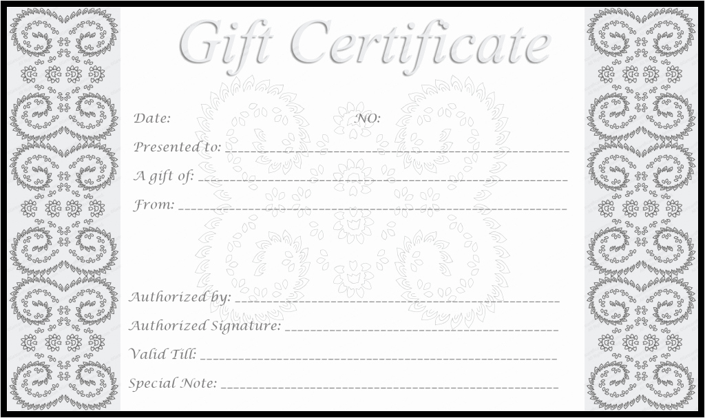 Make Your Own Certificate Templates Fresh Make Your Own Free Printable Silver Award Certificate Template