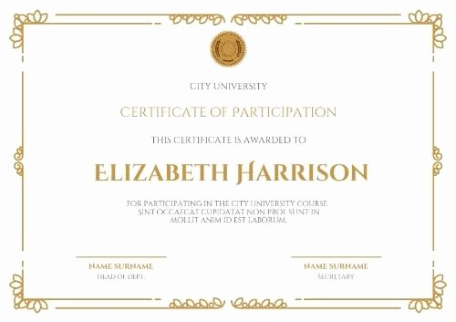 Make Your Own Certificate Templates Unique Make Your Own Certificate Achievement In Seconds