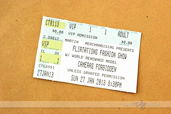 Make Your Own Concert Tickets Awesome Concert Ticket Invite
