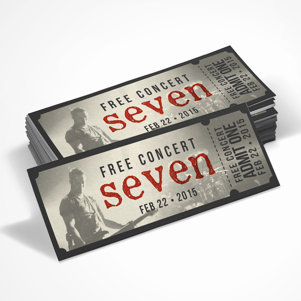 Make Your Own Concert Tickets Awesome Missionary Prayer Cards & E Newsletters