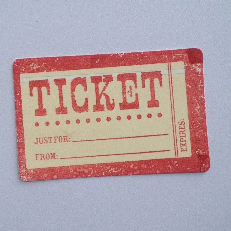 Make Your Own Concert Tickets Beautiful 43 Best Images About Tickets On Pinterest