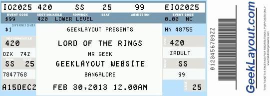 Make Your Own Concert Tickets Best Of Fake Concert Ticket Generator