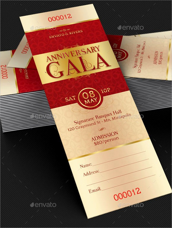 Make Your Own Ticket Template Fresh 9 Sample Ticket Invitations