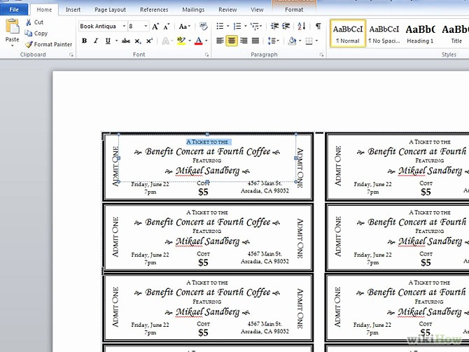 Make Your Own Ticket Template Inspirational 7 Best Of Create Your Own Ticket Templates event