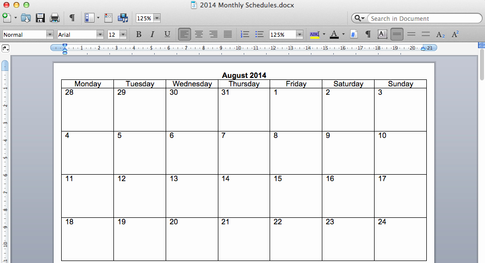Make Your Own Weekly Calendar Lovely Create Your Own Monthly Calendar Our Home Binder A tour