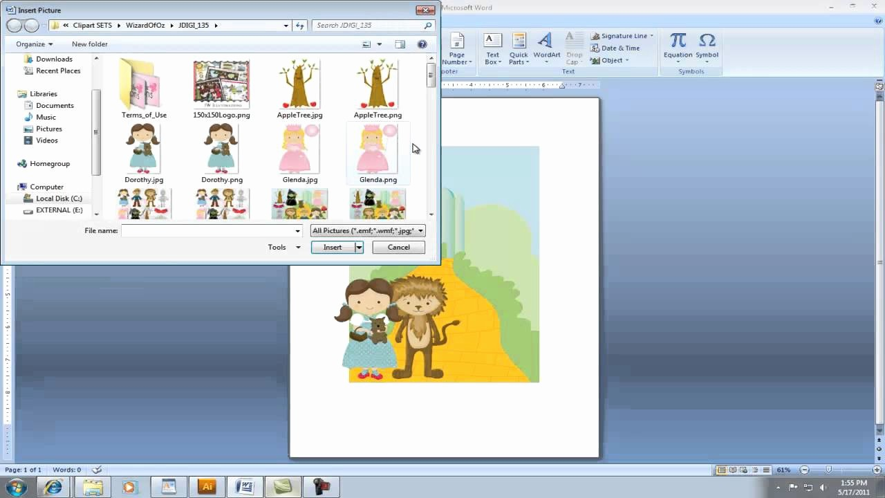 Making Invitations On Microsoft Word Beautiful Creating Invitation Using Clipart In Microsoft Word