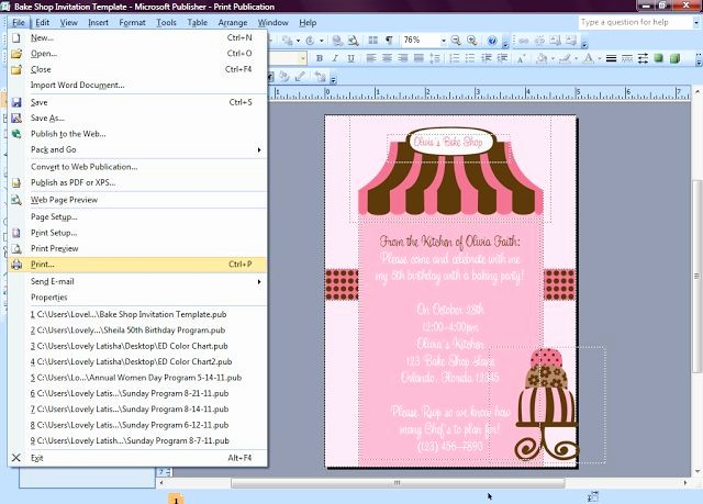 Making Invitations On Microsoft Word Elegant Best 25 Microsoft Publisher Ideas On Pinterest
