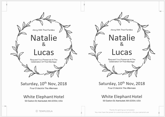 Making Invitations On Microsoft Word Inspirational 13 Free Templates for Creating event Invitations In