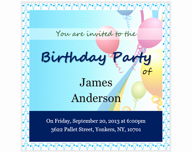 Making Invitations On Microsoft Word Lovely 13 Free Templates for Creating event Invitations In