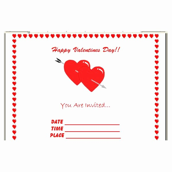 Making Invitations On Microsoft Word Luxury How to Make Your Own Valentine S Day Invitations In