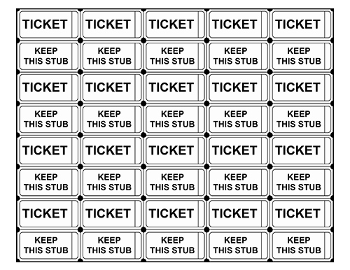 Making Your Own Raffle Tickets Beautiful Printable Raffle Tickets with Numbers Make Your Own