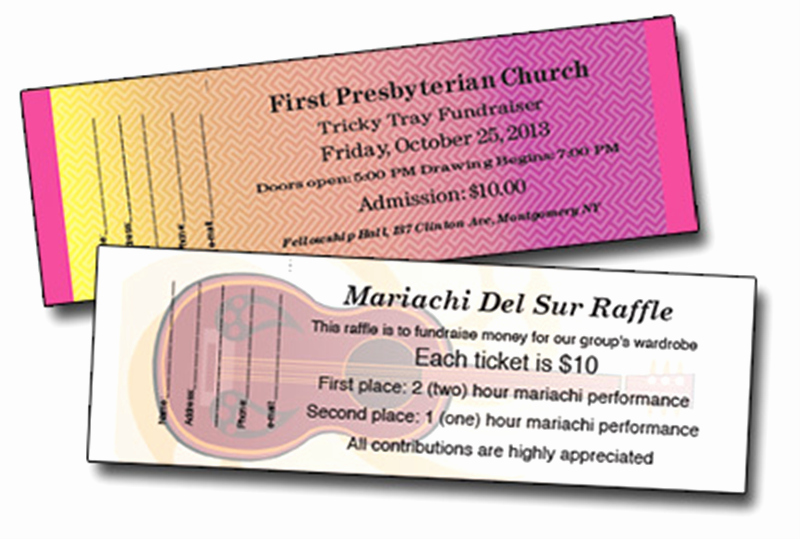 Making Your Own Raffle Tickets Fresh Buy Design It Yourself Full Color Raffle Tickets