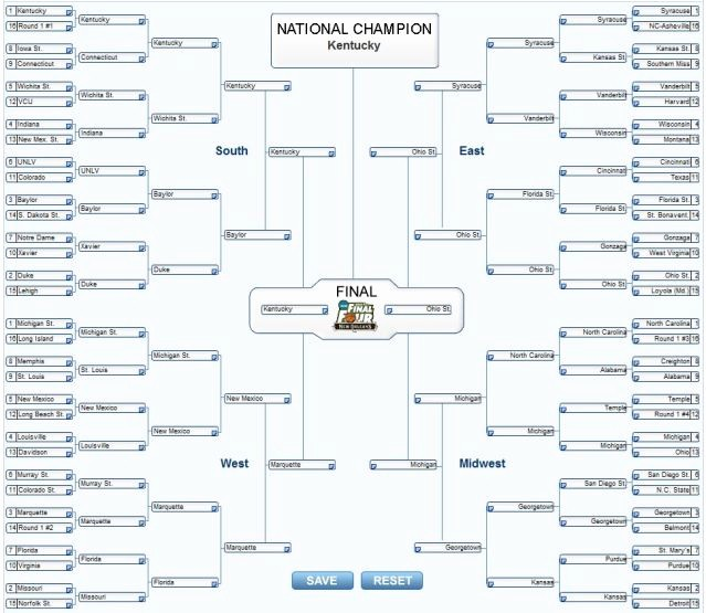 March Madness Bracket Word Document Awesome March Madness