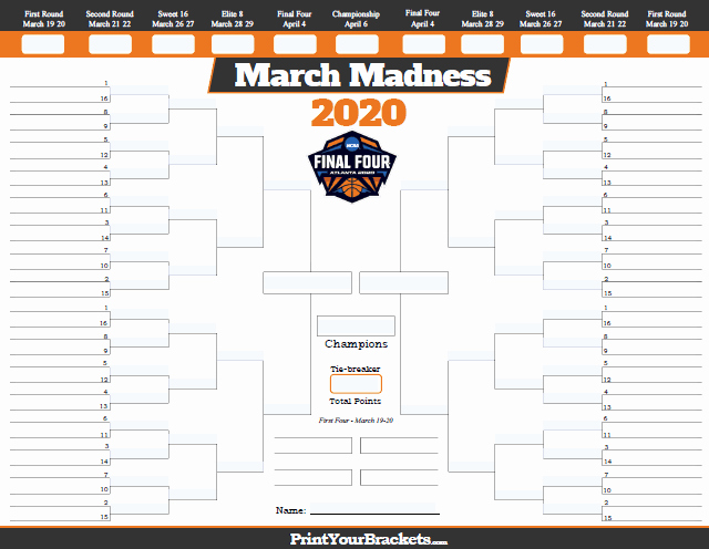 March Madness Bracket Word Document Beautiful March Madness Bracket Template Papel Lenguasalacarta