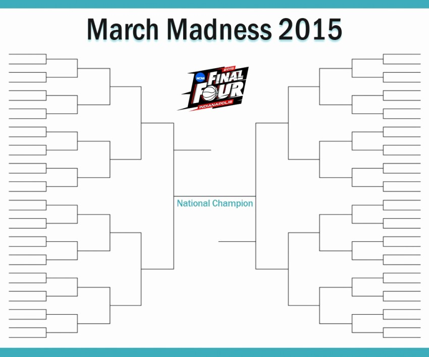 March Madness Bracket Word Document Best Of March Madness Bracket