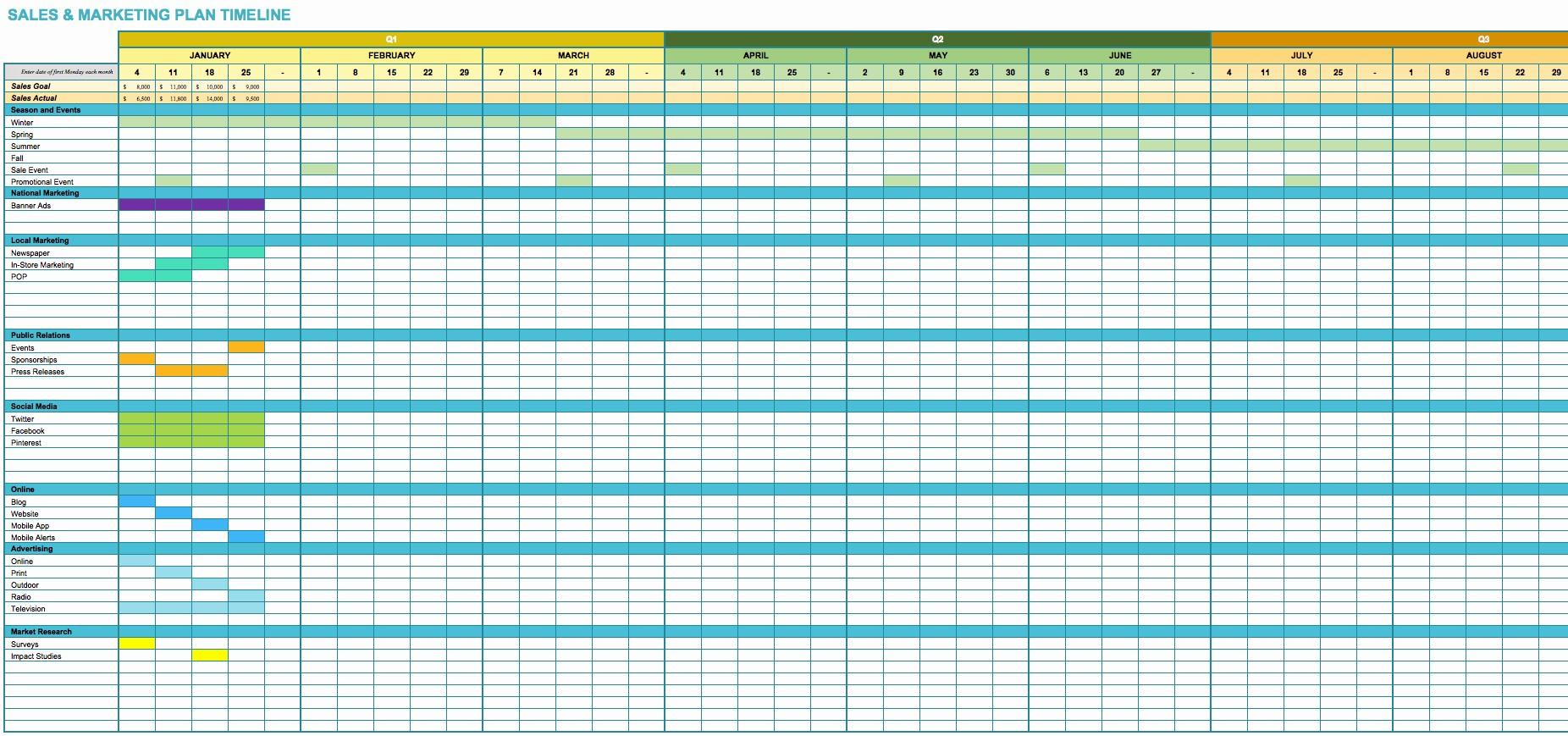 Marketing Action Plan Template Excel Elegant Marketing Project Tracking Sheet Template Marketing