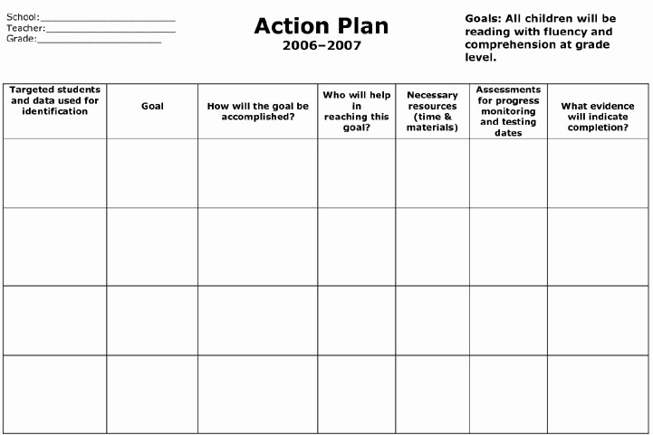 Marketing Action Plan Template Excel Lovely Marketing Action Plan Template Excel