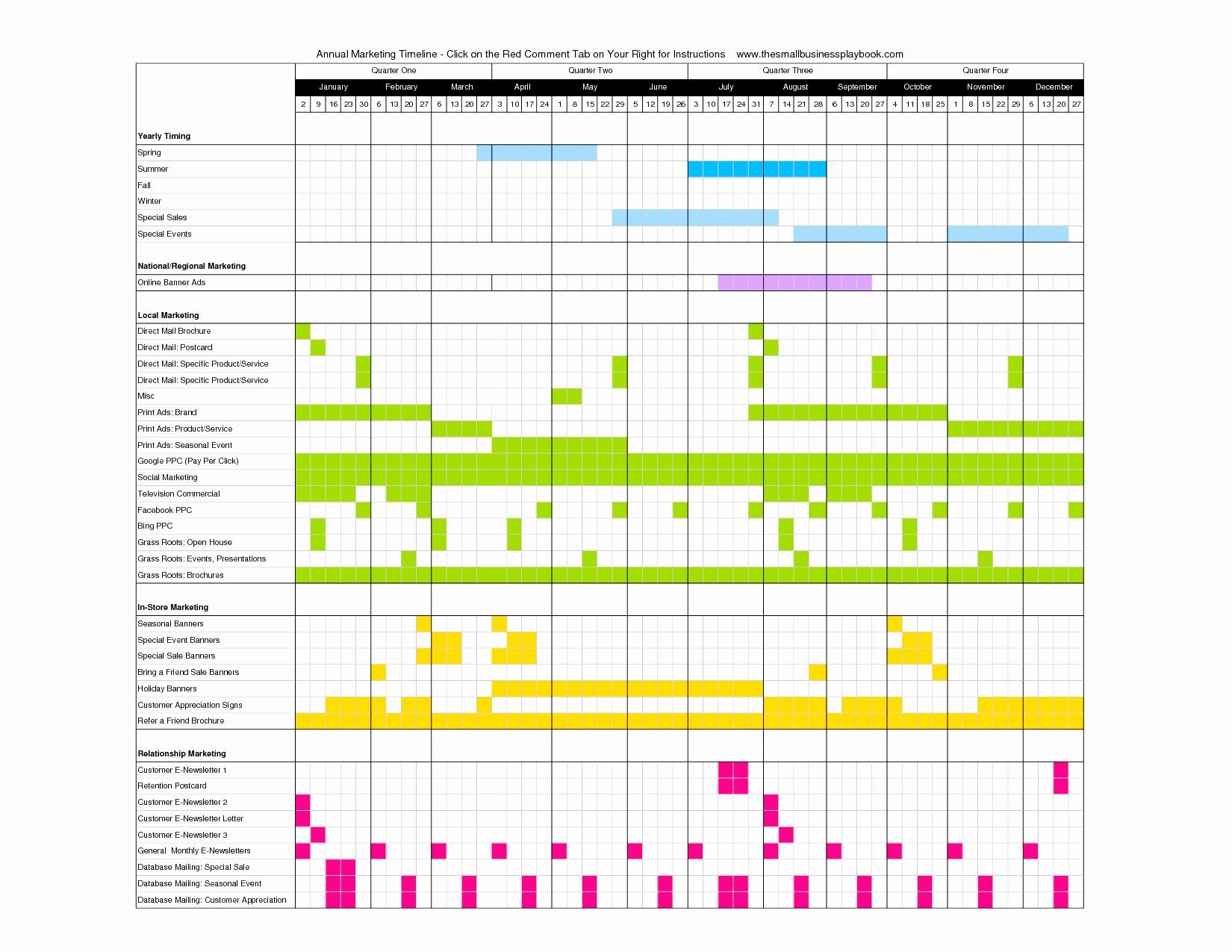 Marketing Calendar Template Excel 2015 Lovely Marketing Campaign Calendar Template Excel Example Of