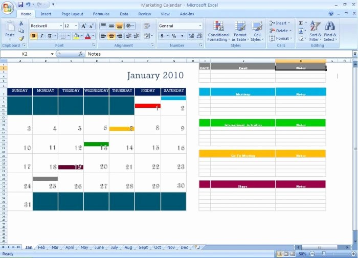 Marketing Calendar Template Excel 2015 New Marketing Calendar Schedule Template tool