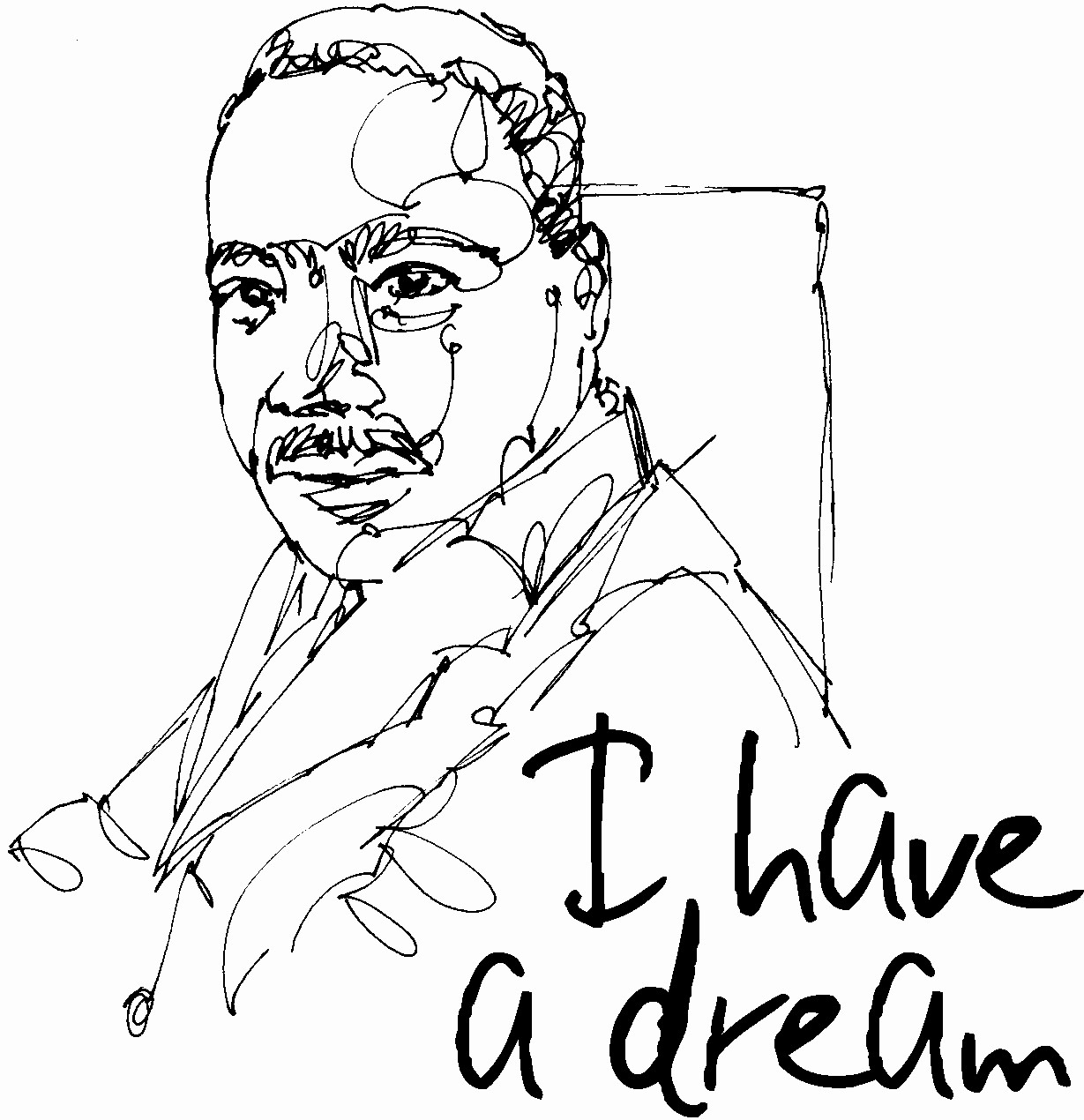 Martin Luther King Jr Template Beautiful Fresh Martin Luther King Coloring Sheet Design