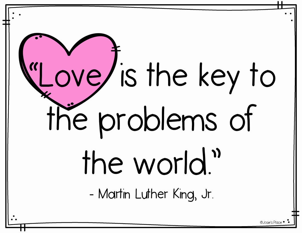 Martin Luther King Jr Template Beautiful Hopping From K to 2 Martin Luther King Activities