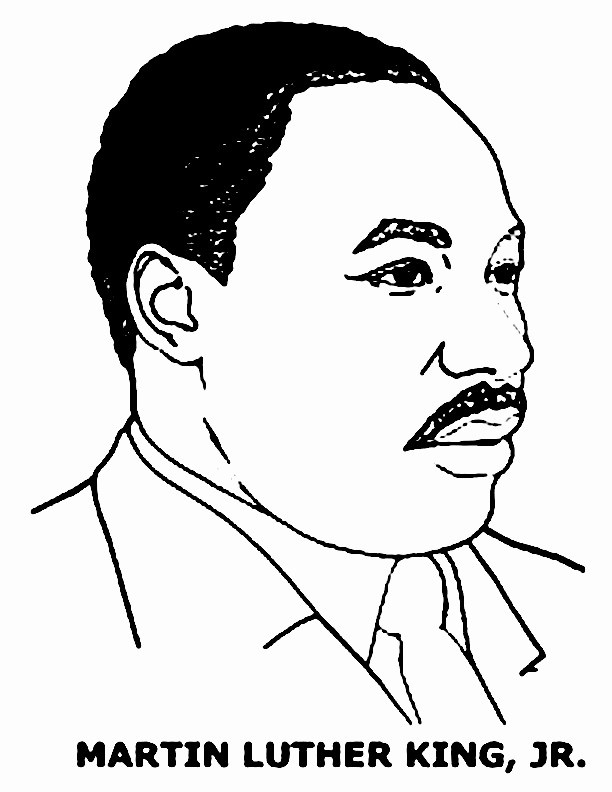 Martin Luther King Jr Template Best Of I Have A Dream Speech Martin Luther King Jr Page Coloring