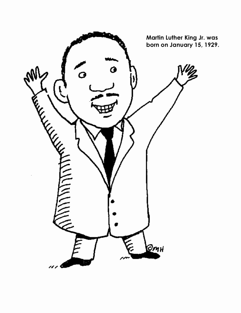 Martin Luther King Jr Template Best Of Luther Rose Coloring Page Coloring Pages