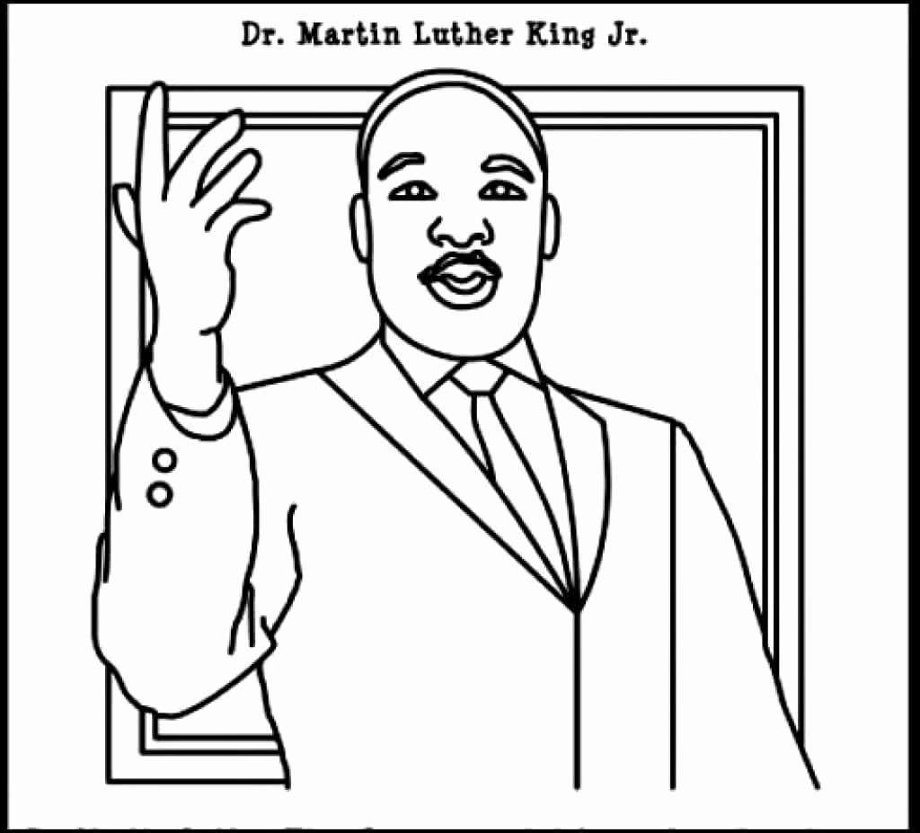 Martin Luther King Jr Template Elegant Free Printable Martin Luther King Jr Day Mlk Day