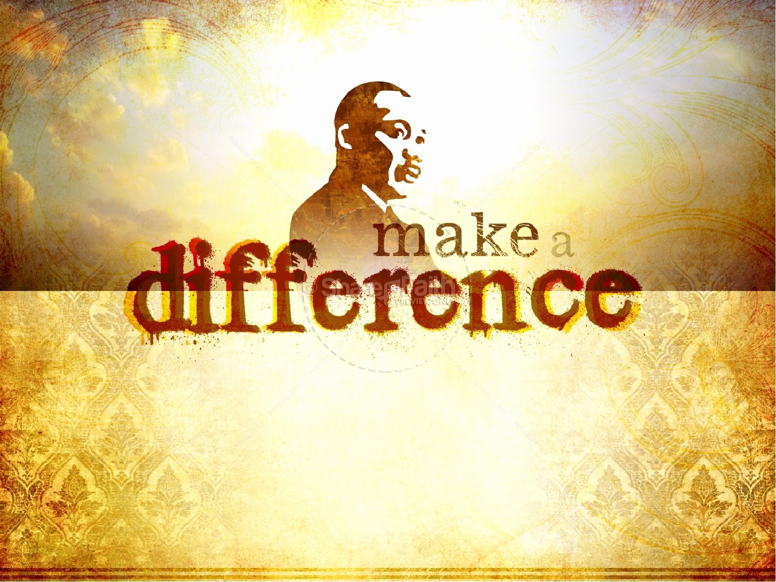 Martin Luther King Jr Template Lovely Martin Luther King Powerpoint Template