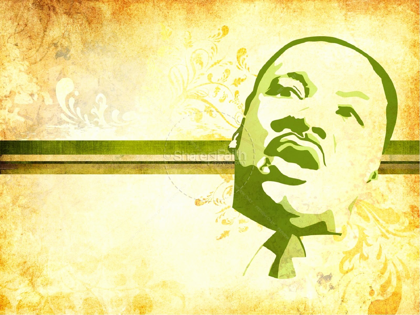 Martin Luther King Jr Template Luxury Martin Luther King Do Right Powerpoint Template