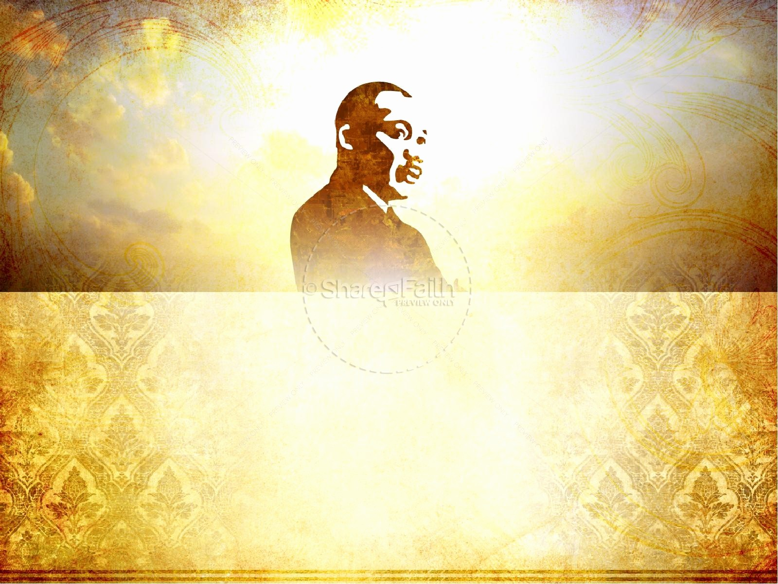 Martin Luther King Jr Template Luxury Martin Luther King Powerpoint Template