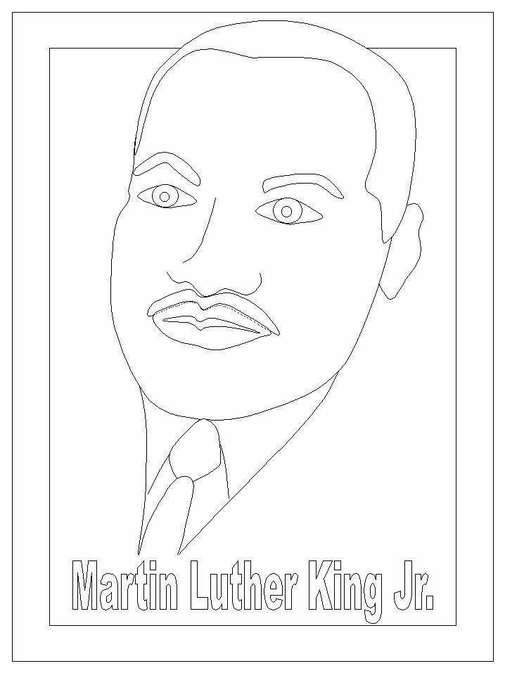 Martin Luther King Jr Template New 17 Best Images About Martin Luther King Jr Preschool On