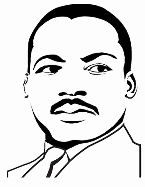 Martin Luther King Jr Template New Dr Martin Luther King Coloring Pages Coloring Pages