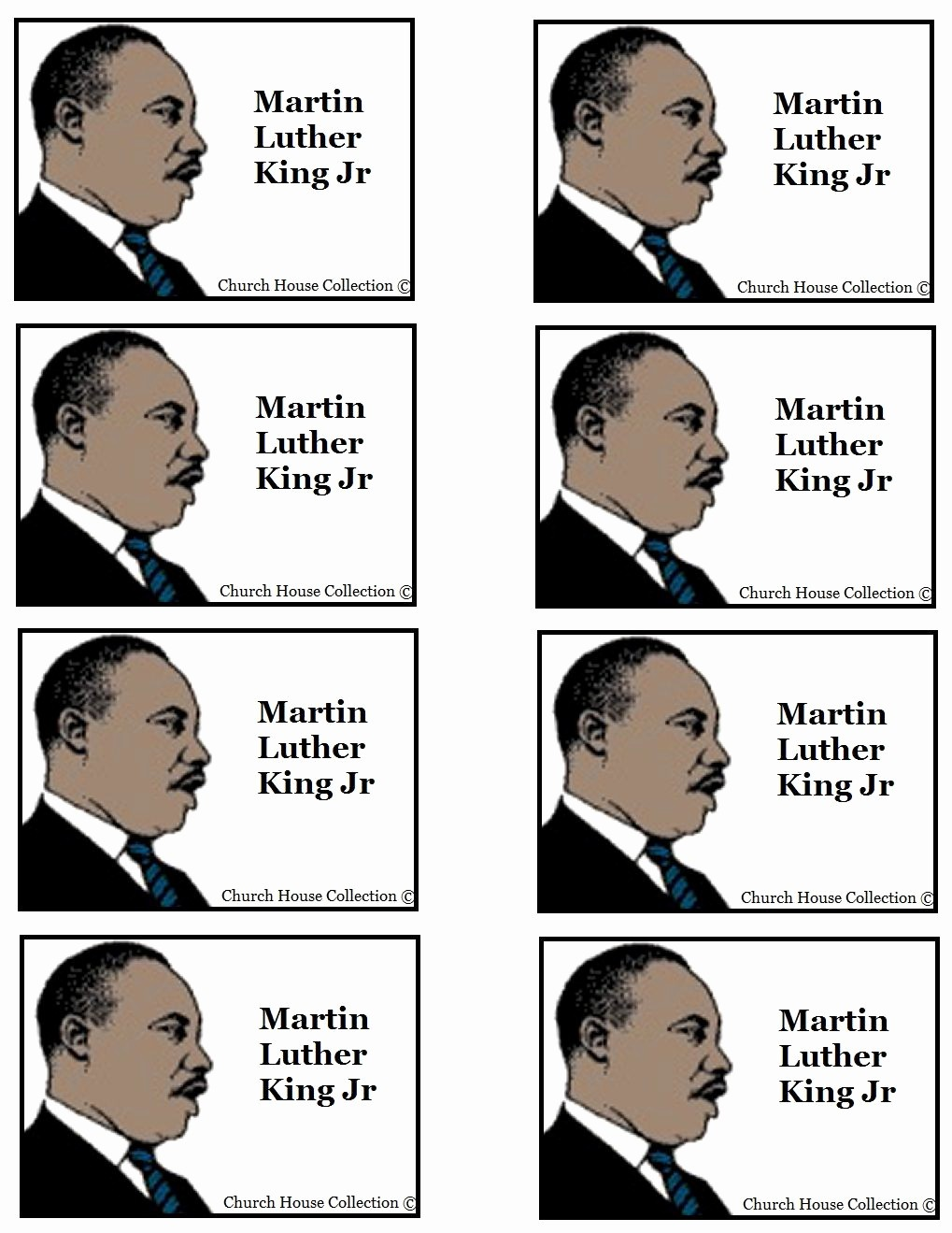 Martin Luther King Jr Template New Martin Luther King Jr Template