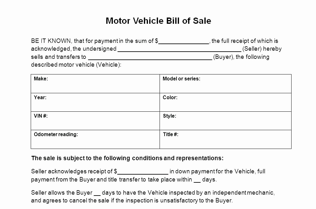 Massachusetts Vehicle Bill Of Sale Lovely 14 Car Bill Of Sale Ma