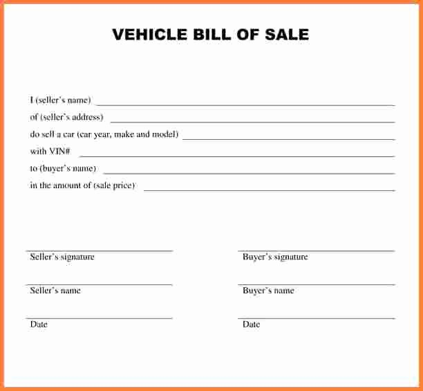 Massachusetts Vehicle Bill Of Sale Lovely Car Bill Sale Ma Free Download 20 High School