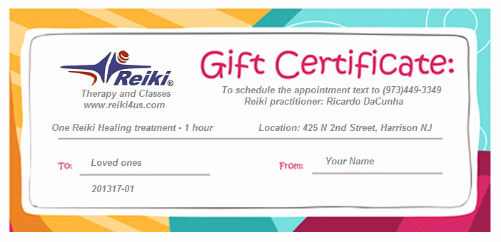 Massage Gift Certificate Template Word Awesome Energy Healing T Certificate Templates Reflexology