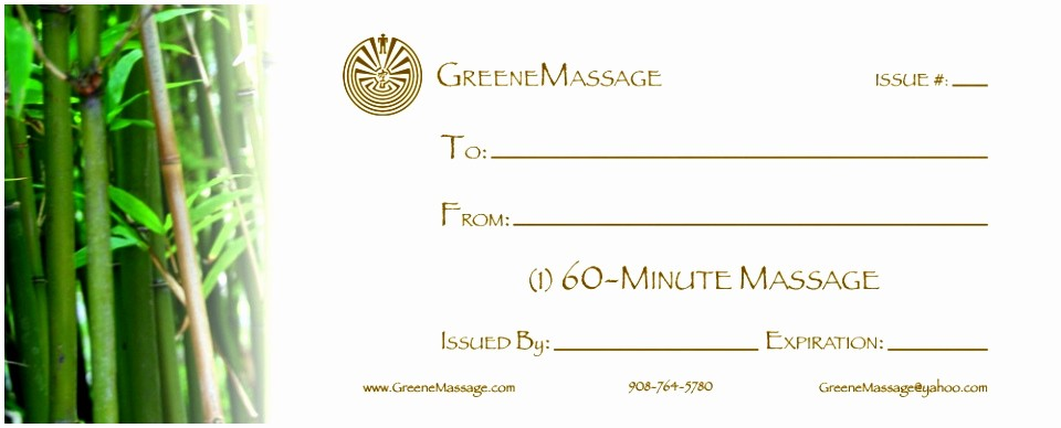 Massage Gift Certificate Template Word Best Of 12 Free Spa Gift Certificate Template Printable Eayua