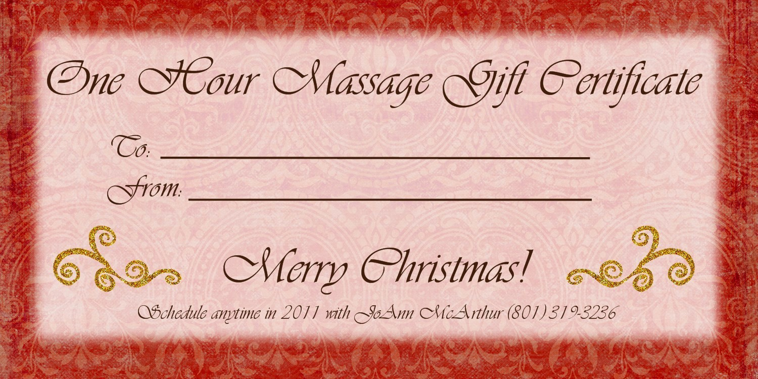 Massage Gift Certificate Template Word Best Of the Gallery for Massage Gift Certificate