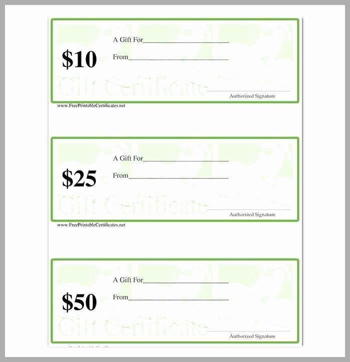 Massage Gift Certificate Template Word Luxury Free Printable Gift Certificate Templates for Massage