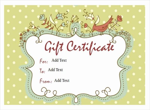 Massage Gift Certificate Template Word Luxury Gift Certificate Template – 34 Free Word Outlook Pdf