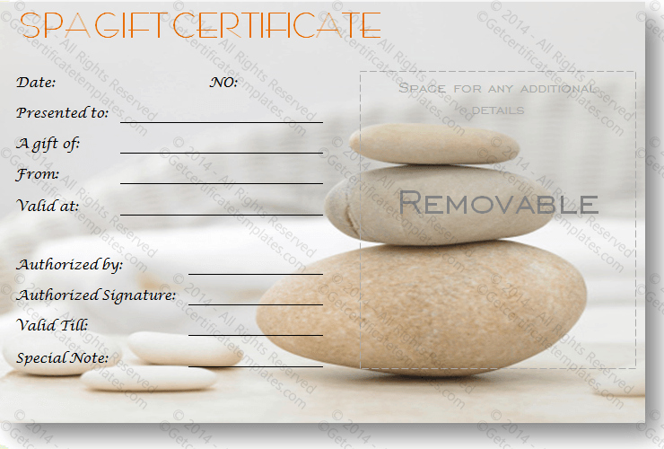 Massage Gift Certificate Template Word Unique Gift Certificate Template
