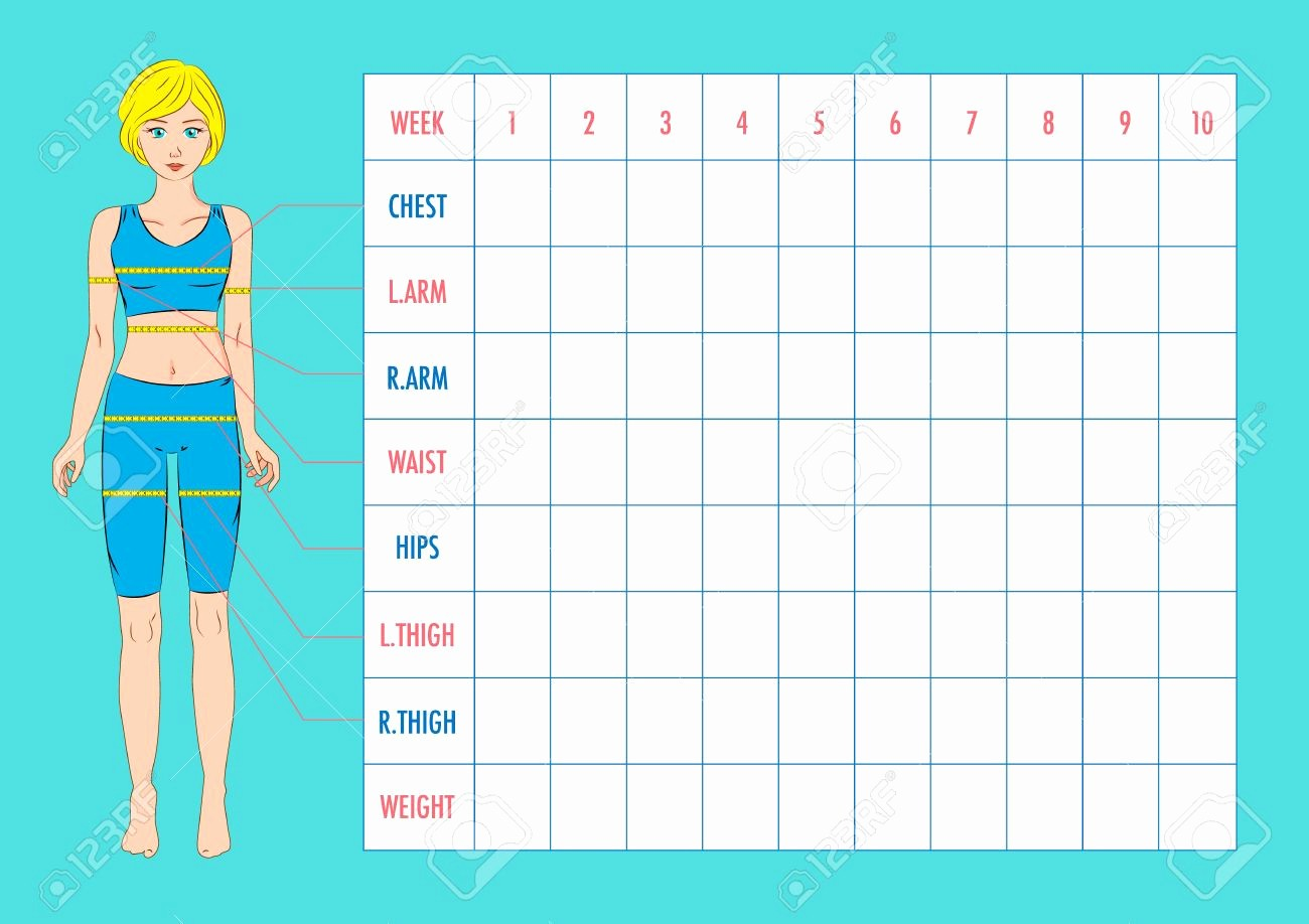 Measurements Chart for Weight Loss Elegant Pin by Matthew Harden On Weight Loss