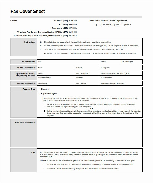 Medical Fax Cover Sheet Template Beautiful 7 Medical Fax Cover Sheet Templates Pdf Word