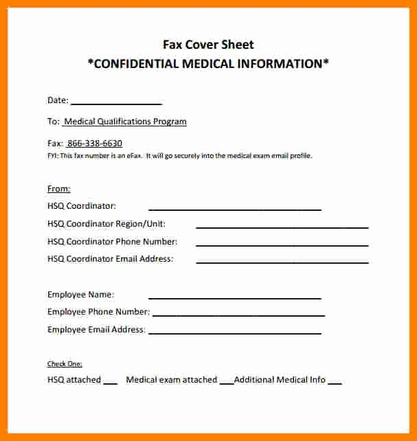 Medical Fax Cover Sheet Templates Best Of 9 Confidential Cover Sheet Pdf