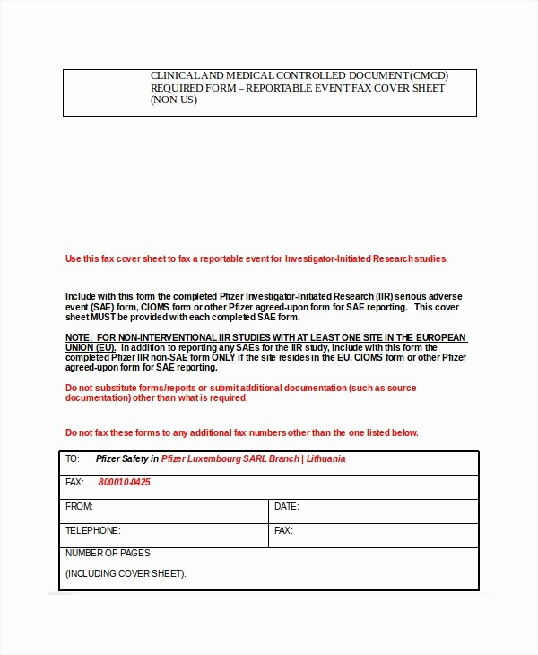Medical Fax Cover Sheet Templates Best Of Fax Cover Sheet Template 15 Free Word Pdf Documents
