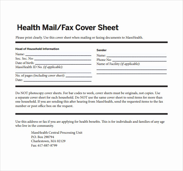 Medical Fax Cover Sheet Templates Elegant 12 Fax Cover Sheet Samples Templates Examples